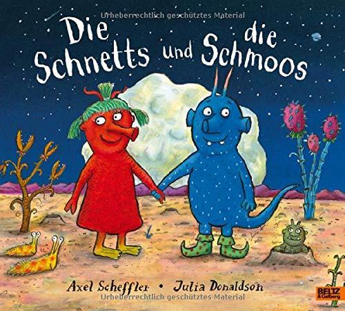 Die Schnetts und die Schmoos: Vierfarbiges Bilderbuch