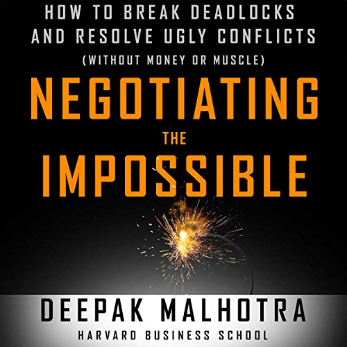 Couverture de Negotiating the Impossible