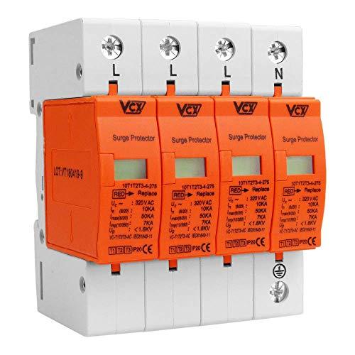 VCX Überspannungsschutz 4p 10-50kA B+C+D I+II+III 230V Blitzschutz VCX-BCD CT-C01 VCX 9049