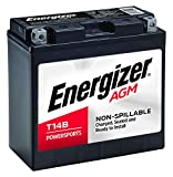 Energizer ET14B AGM Motorcycle 12V Battery, 210 Cold Cranking Amps and 12 Ahr. Replaces: YT14B-4 and others.