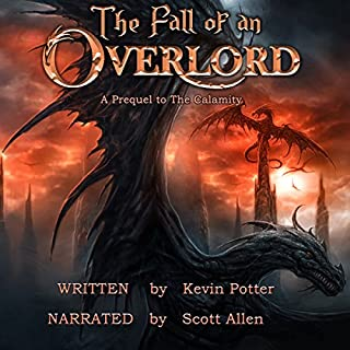 The Fall of an Overlord audiobook cover art