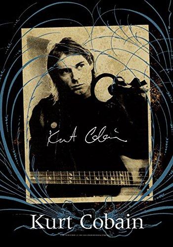 Kurt Cobain – Frame – posterflaggen Drapeau – Taille 75 x 110 cm