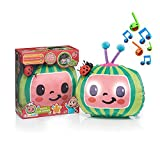 WOW! PODS Stuff CoComelon Toys Musical Sleep Soother | Pre-School Learning Plush Toy That Plays 6 Bedtime Songs Plus Night Light | for Toddlers, Girls and Boys | Ages 2+