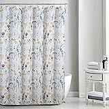 Daniel's Bath & Beyond Shower Curtain Sydeny, White