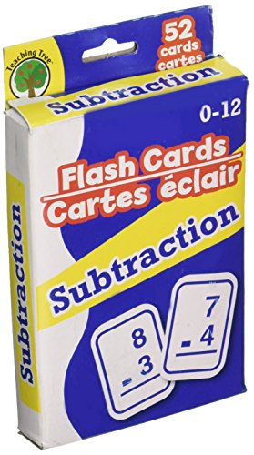 FLASH CARDS SUBSTRACTION