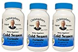 Dr. Christopher's Cold Season Formula, 100 Caps 3 Pack