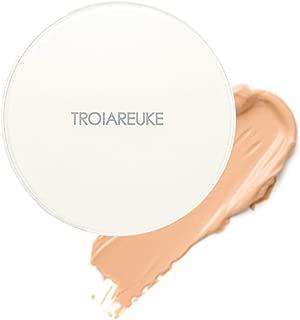 TROIAREUKE H+ Cushion Foundation, 23 Natural Beige - SPF50+ PA++++ Healing Skincare Cushion for Dry Skin