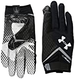 Under Armour Men's Nitro Football Gloves, Medium, Black (001)