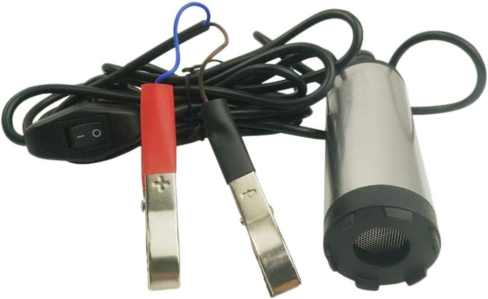 38mm Car Submersible Diesel Fuel Transfer Pump 12v Water Oil Pump Liyes Mini 12//24V Diesel Pump
