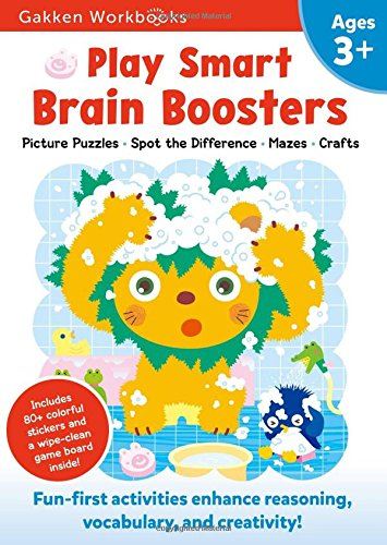 Play Smart Brain Boosters Age 3+: At-home Activity Workbook
