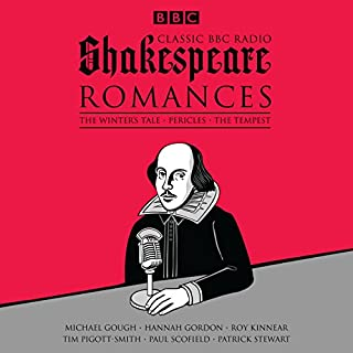 Classic BBC Radio Shakespeare: Romances audiobook cover art