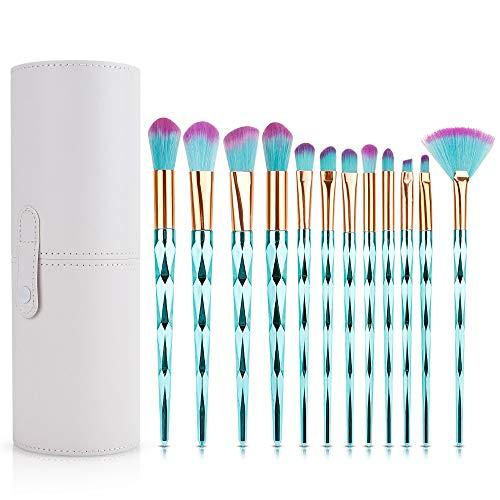 IWILCS 12 Stück Make Up Pinsel Set, Schminkpinsel Lidschatten Set, Professionelles Makeup Pinsel...