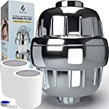 15 Stage Shower Filter with Vitamin C Hard Water Filter 2 Cartridges Included Shower Filters Removes...