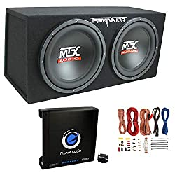 12 inch subwoofer with box and amp