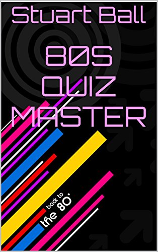 80's Quiz Master by Stuart Ball (Kindle). This 90 page e-book features 250 questions in five separate quiz categories which are Pop Music, Television, Sport, Toys and Games and Films. Not multiple choice.