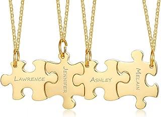 Best 6 piece puzzle necklace Reviews