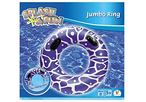 Splash & Fun Schwimmring mit Griffen, Ø 80 cm