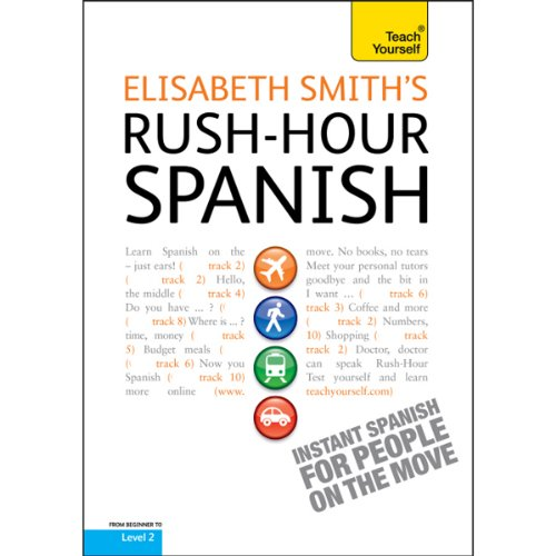 Rush-Hour Spanish: Teach Yourself cover art