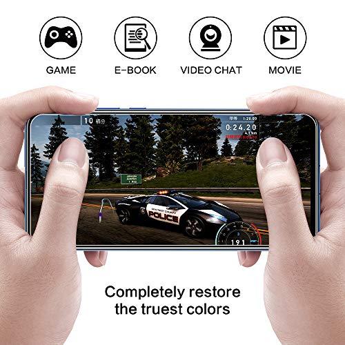 DOSNTO Panzerglas Schutzfolie für Huawei Honor View 20 2 Stück, 9H Härte, Anti-Kratzer, Anti-Öl, Anti-Bläschen, Anti-Fingerprint Displayschutzfolie Panzerglasfolie - 4