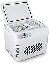 Tellgoy Portable Refrigerator 12L, Mini Fridge Cooler, Freezer Drug Insulin Vaccine Storage, Refrigeration or Warmer, Car Home Travel Camping Picnic,White