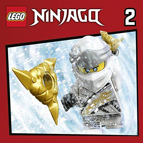 Lego Ninjago 5-8 audiobook cover art