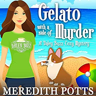 Gelato with a Side of Murder  audiobook cover art