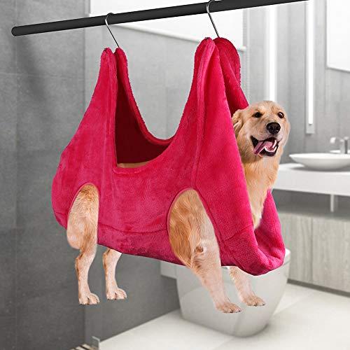 SANGSHI Hamaca para mascotas pequeñas, hamaca para mascotas, para cachorros, gatitos, para recortar las uñas, bolsa de baño