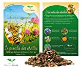 Le Paradis des Abeilles Graines – Mélange pour bacs de balcon (mélange annuel) poids: 10 g – suffisant pour 5 jardinières d'une longueur de 100 cm - Plantes aux abeilles pour balcon et terrasse