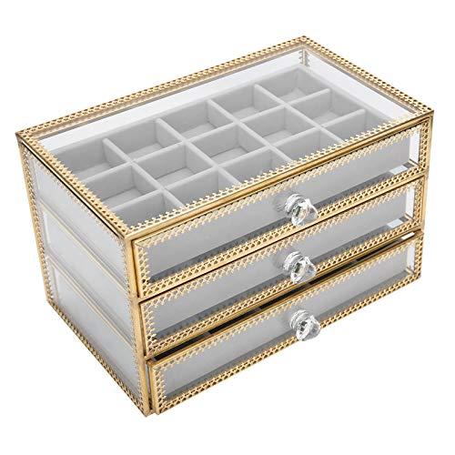 Caja De Almacenamiento De Uñas Falsas, Caja De Joyería Versátil Caja De Almacenamiento De Accesorios De Joyería De Uñas Para Baño