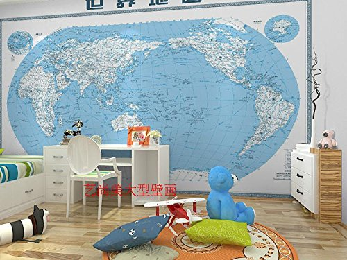 Fototapete Dekor Wallpaper Das Neue Englische Overalls Custom Welt Karte Karte Von China Company Cute Hintergrund Wanddekoration