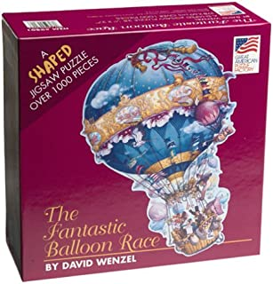 Fantastic Balloon Race Shaped 1000 Piece Puzzle