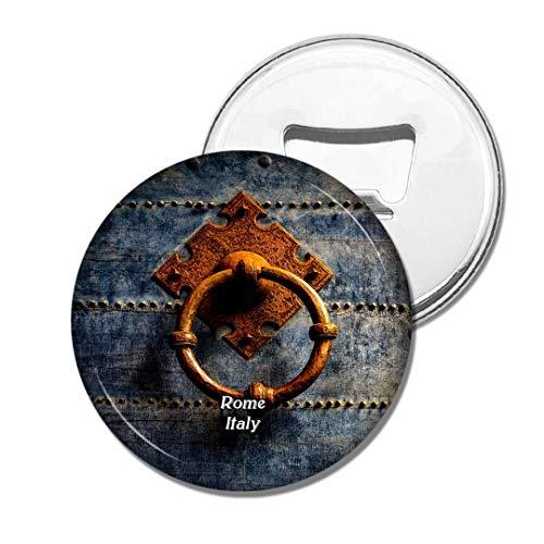 Weekino Tür-Metallring Italiens Rom Castel Sant'Angelo Bier Flaschenöffner Kühlschrank Magnet Metall Souvenir Reise Gift