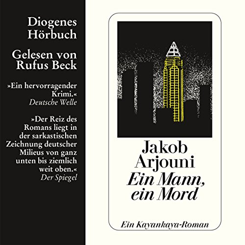 Ein Mann, ein Mord                   By:                                                                                                                                 Jakob Arjouni                               Narrated by:                                                                                                                                 Rufus Beck                      Length: 4 hrs and 56 mins     3 ratings     Overall 5.0