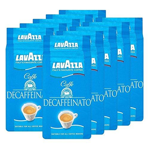 Lavazza DEK Kaffee, Decaffeinato, gemahlener Bohnenkaffee (10 x 250g)