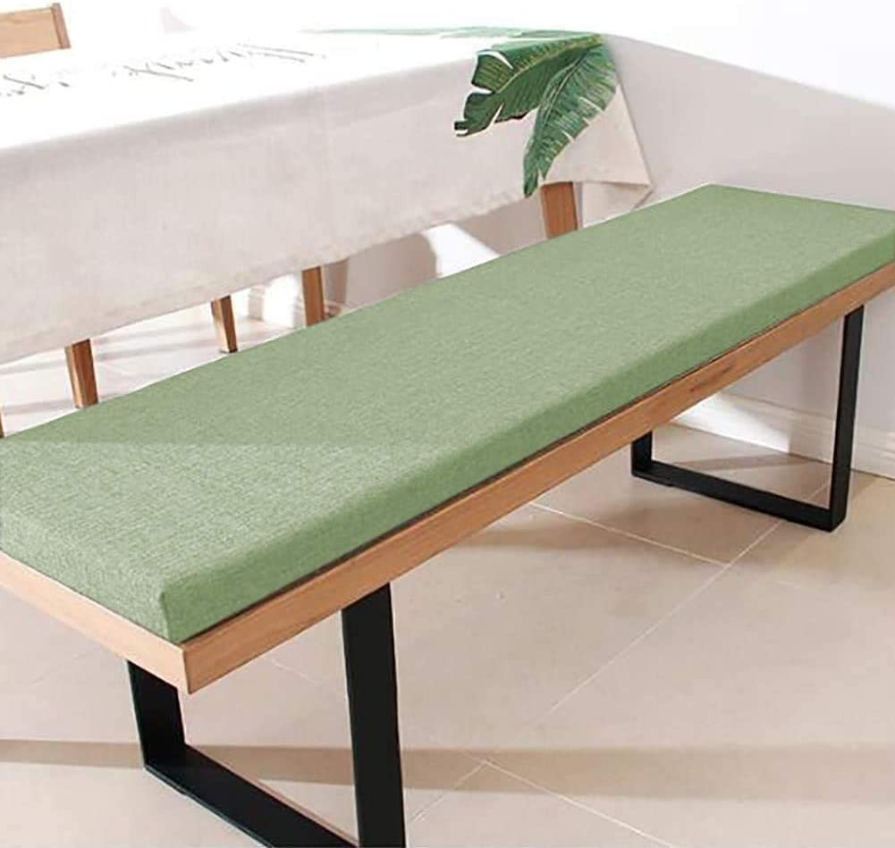 DanChen Garden Bench Cushion 2 3 Seater,5cm Thick Seat Pad Wooden Bench Seat Cushion Replacement Mattress for Indoor Outdoor Patio Swing Sunbed Balcony Hallway Patio Outdoor Furniture