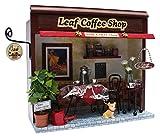 Shop kit leaf coffee shop of 8787 Billy handmade dollhouse kit street corner (japan import)