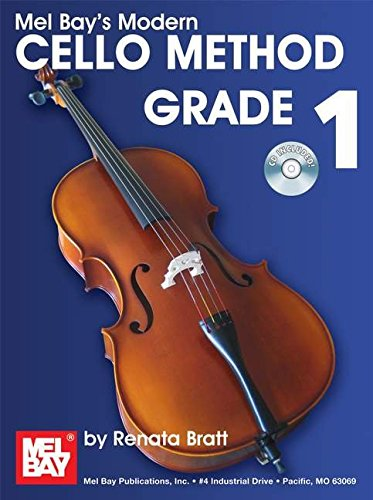 Bratt Renata Modern Cello Method Grade 1 Cello Book/CD (Modern Method)