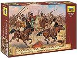 Zvezda 500788031 500788031-1:72 Carthaginian Cavalry III-I B.C. -Plastikbausatz-Modellbausatz-Zusammenbauen-Bausatz-für Einsteiger-detailliert