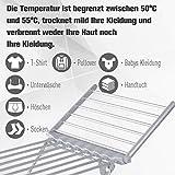 Homcom Beheizbarer Flügelwäscheständer Wäschetrockner Wäscheständer Wäschegestell Trockengestell Faltbar - 4