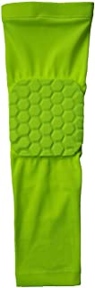 Mens Sport Basketball Shooting Elbow Pads Protector Support Guard Elastic Compression Arm Sleeve Warmers,Green,M