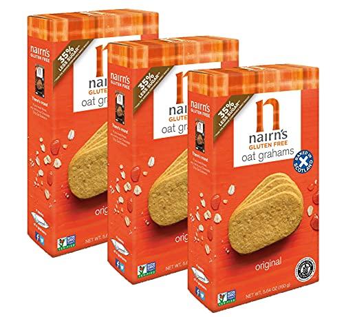 Nairn's Gluten Free Original Oat Grahams, 3 Packs/5.64 oz