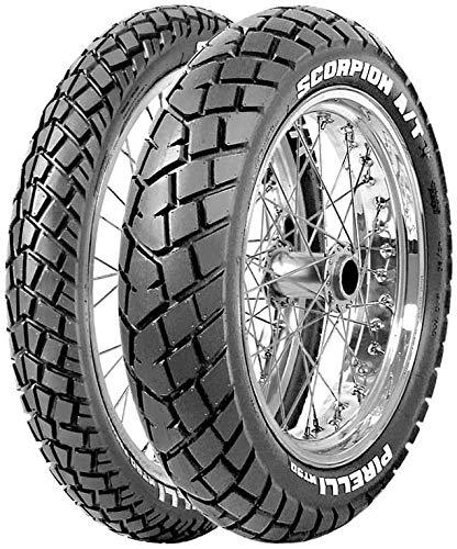 Pirelli - Neumáticos MT 90 A/T Scorpion 80/90-21 M/C 48S delantero Enduro ON/OFF neumáticos moto y scooter