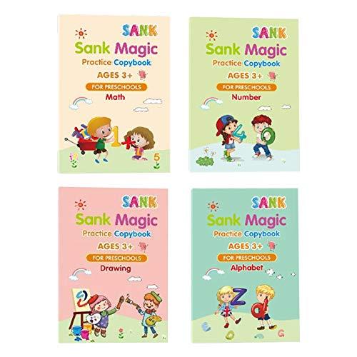 Cuaderno de ejercicios en inglés para niños o adultos para practicar diferentes tipos de letra a mano y para establecer su propio estilo.