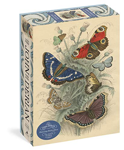 Compare Textbook Prices for John Derian Paper Goods: Dancing Butterflies 750-Piece Puzzle Artisan Puzzle  ISBN 9781648290183 by Derian, John,Artisan Puzzle