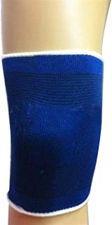 St. Lun Soft Elastic Breathable Support Brace Knee Protector Pad Sports Bandage Blue