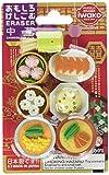 Iwako Japanese Chinese Foods Eraser Set (38338)