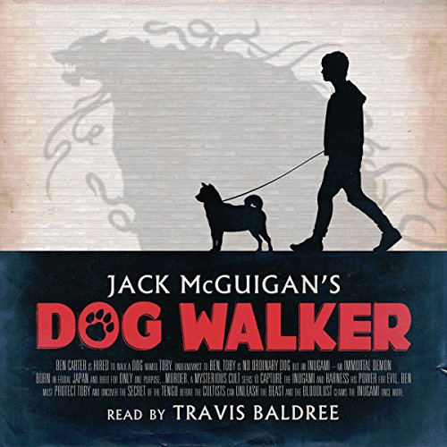 Dog Walker audiobook cover art