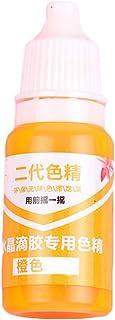 Brussels 08 Colorant liquide pour résine époxy UV 10 g Orange
