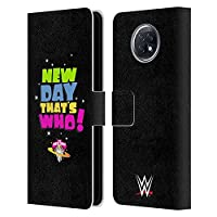 Head Case Designs オフィシャル ライセンス商品 WWE That's Who ニュー・デイ Xiaomi Redmi Note 9T 5G 専用レザーブックウォレット カバーケース