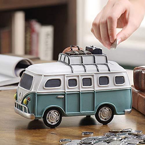 Hucha Hucha Niño de gran capacidad del coche hucha de juguete creativo lindo de la caja de dinero de cumpleaños Recuerdos Salón Dormitorio decoración de escritorio Contador Digital Hucha ( Color : B )
